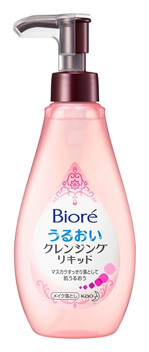 KAO Biore Cleansing Liquid Жидкость для очищения лица с дозатором