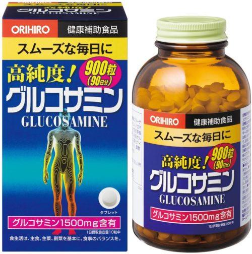 ORIHIRO Глюкозамин высокой степени очистки, 900 табл., курс 90 дней