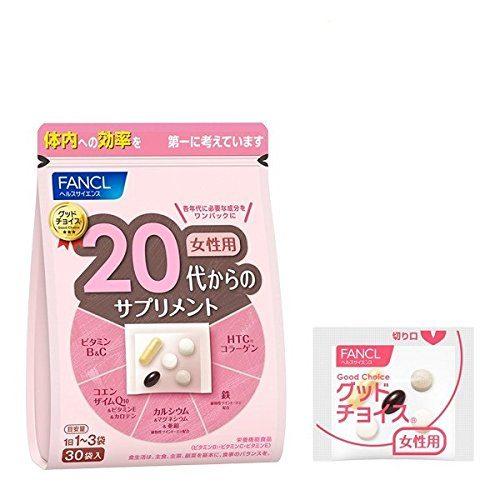 FANCL Витаминный комплекс для женщин 20-30 лет, 30 пакетиков