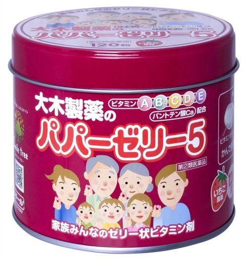 OHKI Papa Jelly 5 Комплекс витаминов для детей от 1 года, 120 шт.