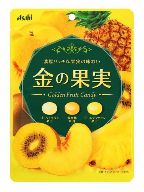 Asahi Golden Fruit Candy Леденцы Золотые фрукты, 84 г
