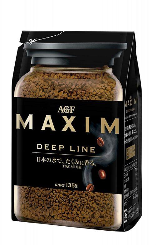 AGF Maxim Deep Line Растворимый кофе, 135 г