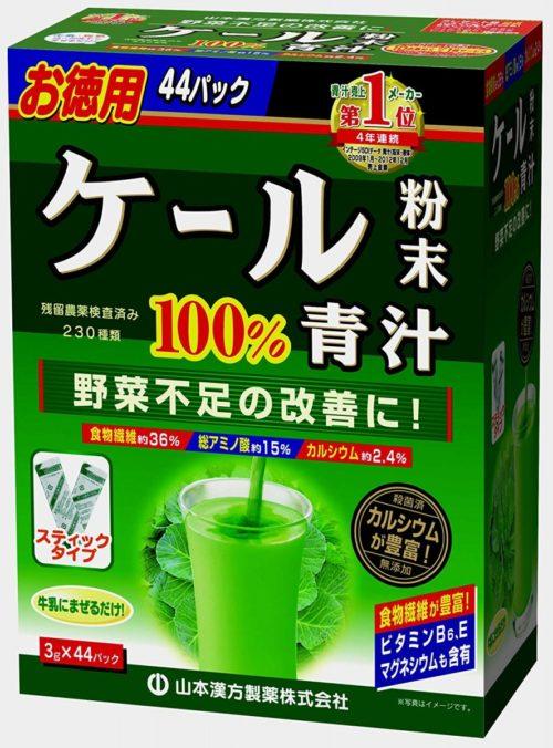 Yamamoto Аодзиру на основе капусты Кале, 44 пакетика