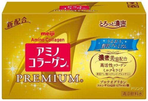Meiji Amino Collagen Premium Drink Амино коллаген Премиум питьевой, 50 мл х 10 шт.