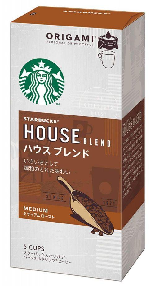 AGF Starbucks Origami Personal Drip Coffee Молотый кофе в дрип-пакетах, 10 г х 5 пакетиков