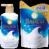 Cow Brand Bouncia Мыло для тела с коллагеном, гиалуроновой кислотой с ароматом белого мыла