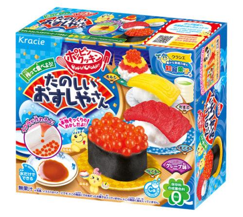 Kracie Popin' Cookin' Набор для детей «Сделай сам» Суши