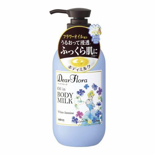 Mandom Dear Flora Молочко для тела с натуральными цветочными маслами, 240 мл