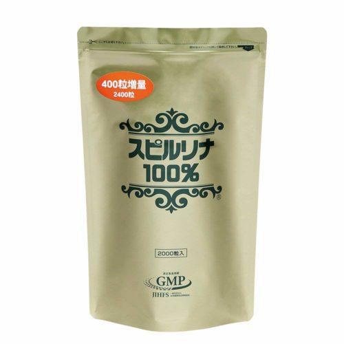 Japan Algae 100% Спирулина, 2400 табл. на 60 дней