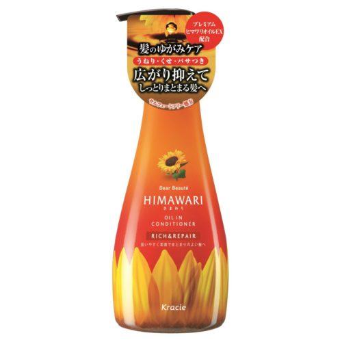 Kracie HIMAWARI Oil In Conditioner Rich&Repair Бальзам для поврежденных волос