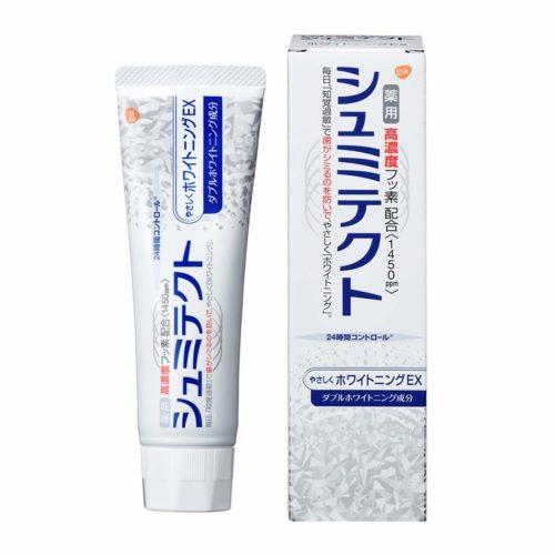 Shumitect Gently Whitening EX Лечебная зубная паста с мягким отбеливанием, 90 г