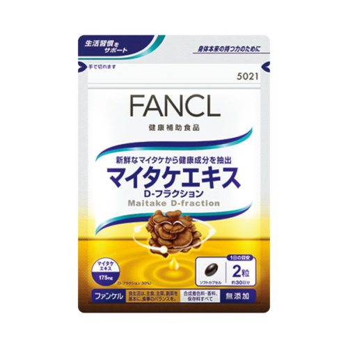 FANCL Maitake extract D-fraction Экстракт Майтаке D-фракция, курс 30 дней
