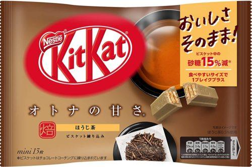 Kit Kat mini Hojicha Кит кат Ходзитя, 13 шт.