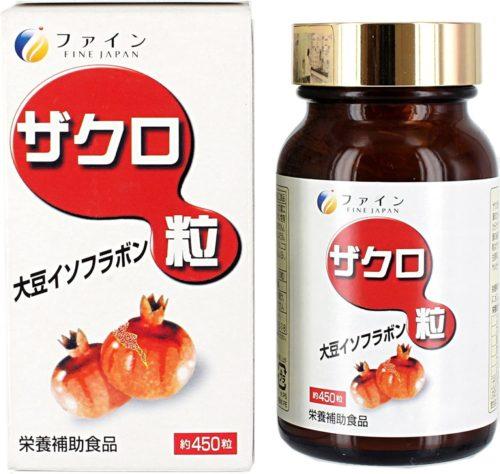 Fine Экстракт граната, соевые изофлавоны, гинкго билоба, витамин С, 450 табл.