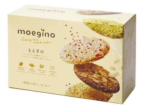 Tivoli Tivon Moegino Тонкое печенье ассорти 4 вида, 20 шт.