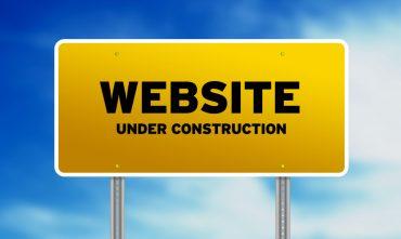Сайт в стадии разработки