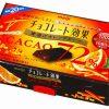 Meiji Шоколад с 72% какао и апельсиновыми корочками, 47 г