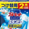 Kobayashi Bluelet Stampy Запасной блок на очищающую и дезодорирующую гелевую печать для туалета, на 60 дней