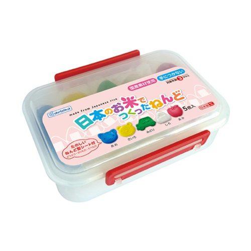 DEBIKA Пластилин из японского риса, 5 цветов