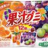 Meiji Juice Gummy Мармелад с фруктовым соком 2 вкуса, 12 шт.