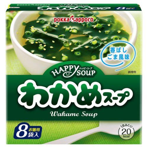 Pokka Sapporo Суп с водорослями вакаме, 8 шт.