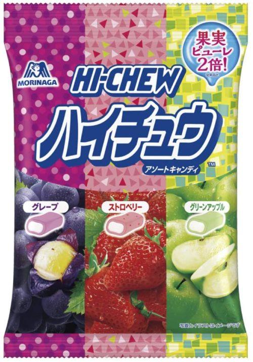 MORINAGA HI-CHEW Фруктовые жевательные конфеты ассорти, 94 г