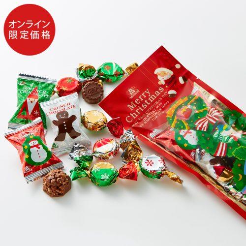 Morozoff Christmas Surprise Crunch chocolate & Milk chocolate Подарочный набор шоколадных конфет, 11 шт.