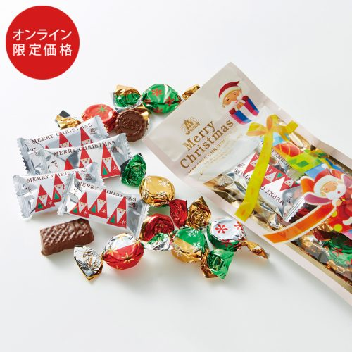 Morozoff Christmas Surprise Millefeuille chocolate & Milk chocolate Подарочный набор шоколадных конфет, 12 шт.
