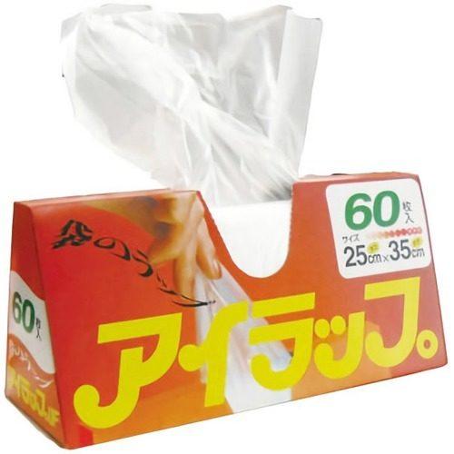 Iwatani Airappu Пакеты для приготовления еды и хранения продуктов, 60 шт.