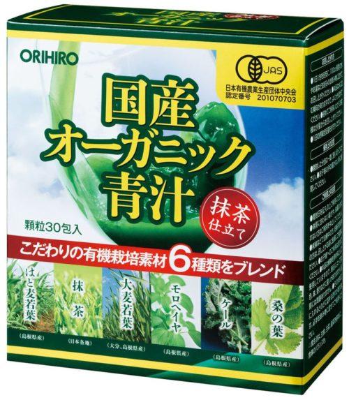 ORIHIRO Органический Аодзиру, 30 пакетиков