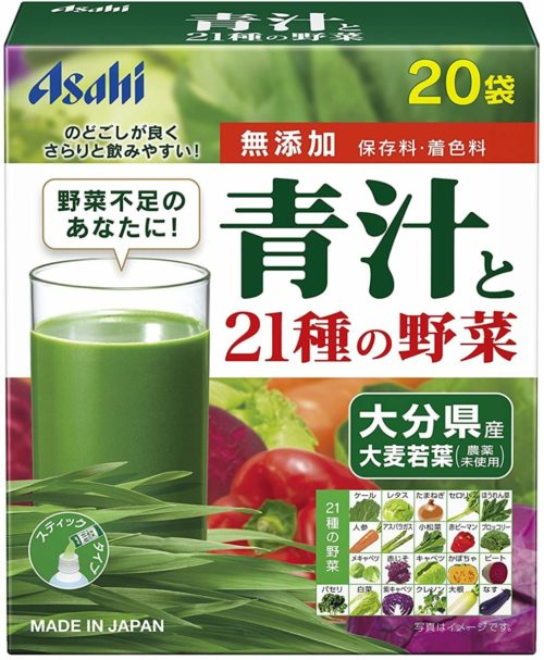 Asahi Аодзиру + 21 видов овощей