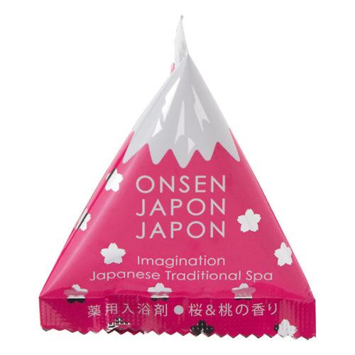 Onsen Japon Japon Соль для ванны с ароматом сакуры, 20 г