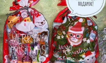 Всем покупателям новогодние сладкие подарки!