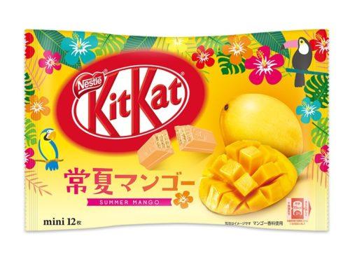 Kit Kat mini Summer Mango Кит кат Летнее манго , 12 шт.