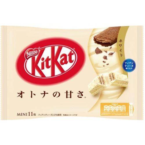 Kit Kat mini White Кит кат Белый шоколад с хрустящей текстурой, 11 шт.